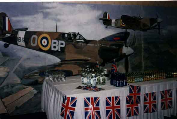 spitfire backdrop