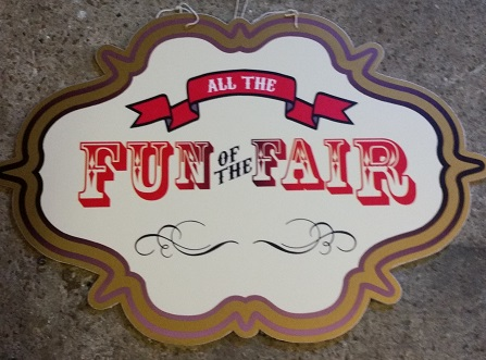 all the fun of the fair signs