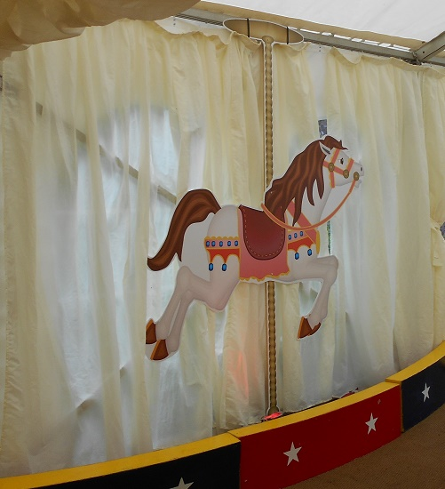 carousel horse cut outs