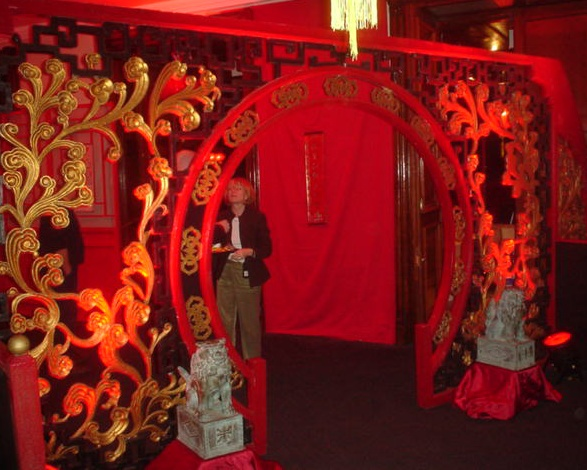 chinese entrance