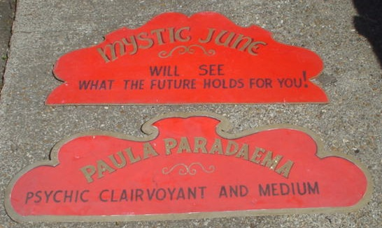 clairvoyant signs