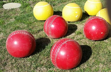 over size cricket balls