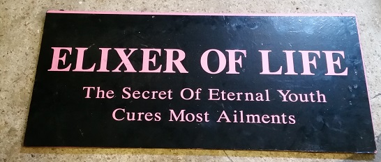Elixer of life sign