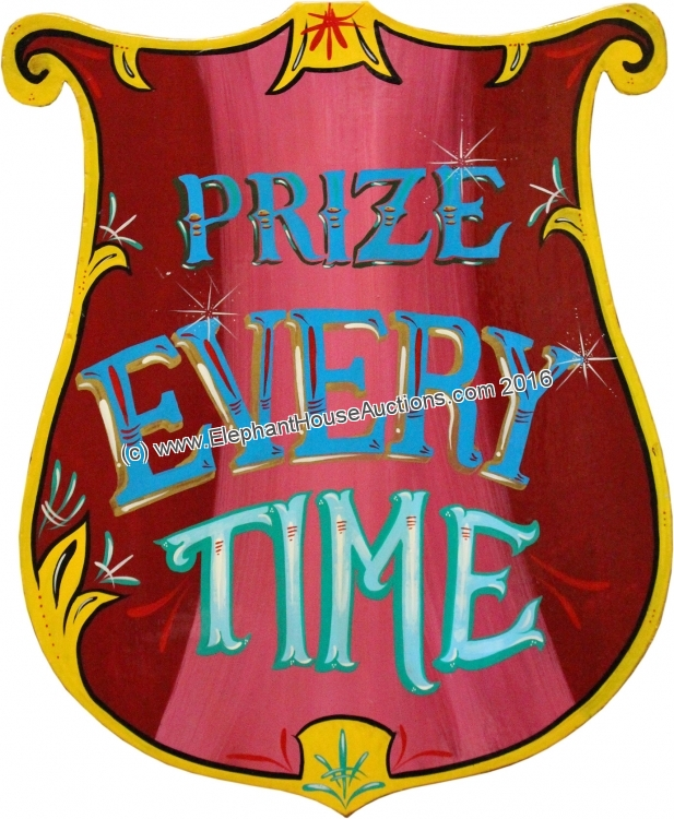prize every time sign