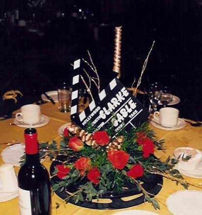 hollywood table centre