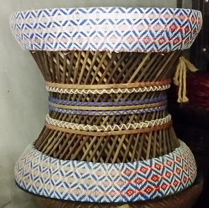 woven Indian stool