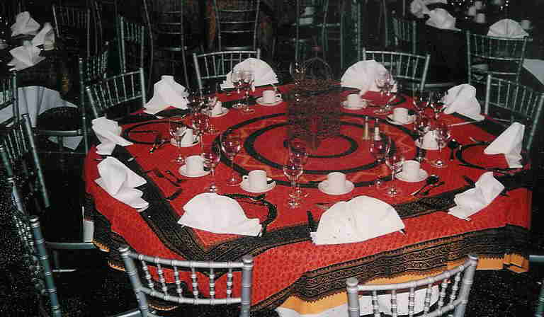 indian printed tablecloths