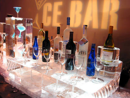 ice bar top