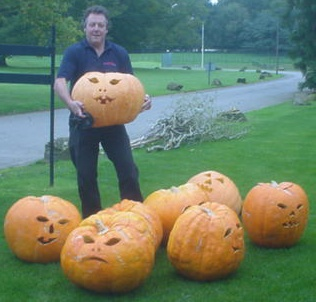 pumpkins carved to order