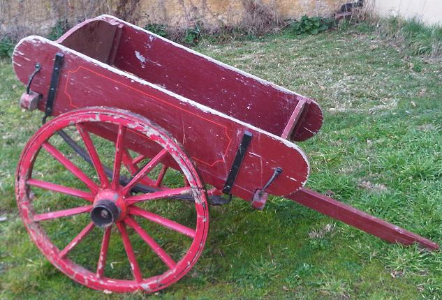 red pony cart
