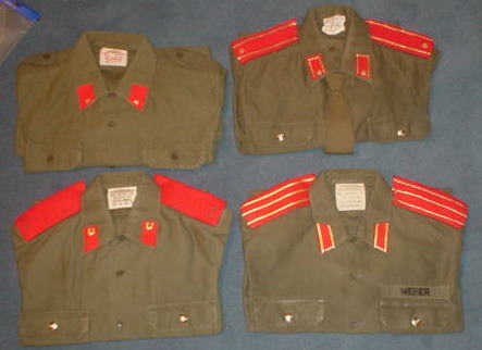 Russian Army shirts
