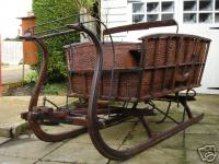 old sleigh for hire