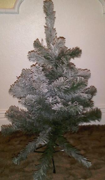 artificial fir trees