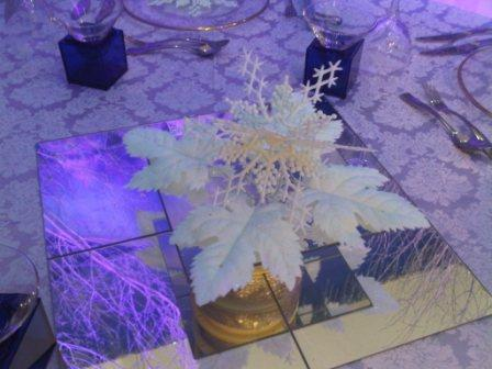 snowflake table centres