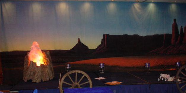 arizono badlands backdrop